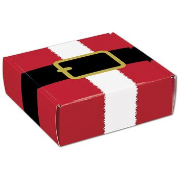 Santa's Belt Decorative Mailers, 6 x 6 x 2""