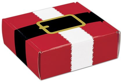 "Santa's Belt Decorative Mailers, 6 x 6 x 2"""
