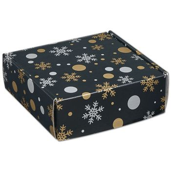 Christmas Elegance Decorative Mailers, 6 x 6 x 2