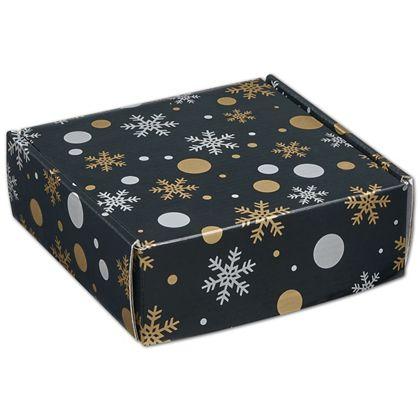 "Christmas Elegance Decorative Mailers, 6 x 6 x 2"""