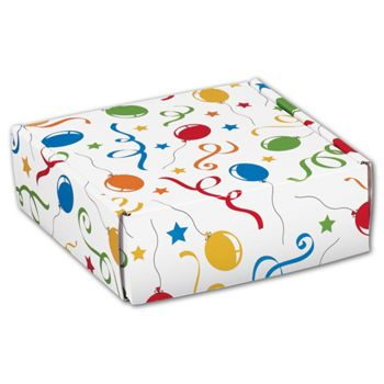 Festive Party Decorative Mailers, 6 x 6 x 2