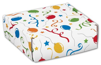 Festive Party Decorative Mailers, 6 x 6 x 2""