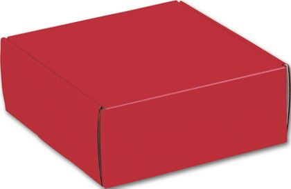 Red Decorative Mailers, 8 x 8 x 3""