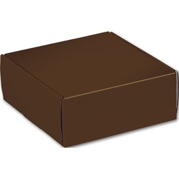 Chocolate Decorative Mailers, 8 x 8 x 3""