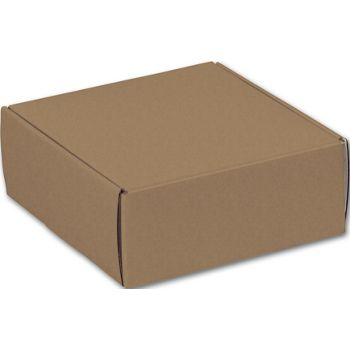 Kraft Decorative Mailers, 8 x 8 x 3""
