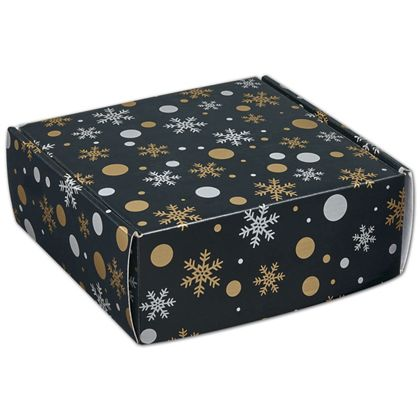 "Christmas Elegance Decorative Mailers, 8 x 8 x 3"""