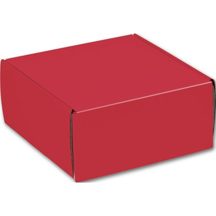 """Red Decorative Mailers, 9 x 9 x 4"""""""