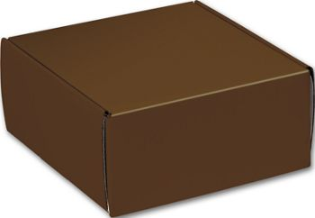 Chocolate Decorative Mailers, 9 x 9 x 4