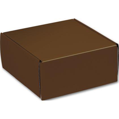 "Chocolate Decorative Mailers, 9 x 9 x 4"""