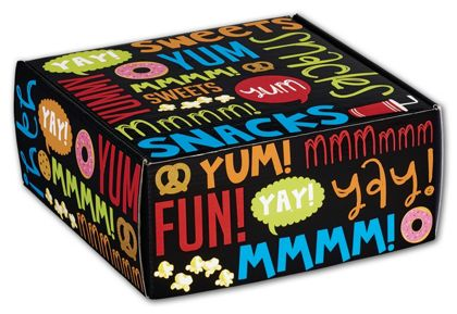 Snack Attack Decorative Mailers, 9 x 9 x 4""