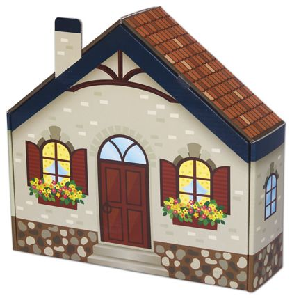 """Home Sweet Home House Decorative Mailers, 10 1/2 x 10 x 3"""""""