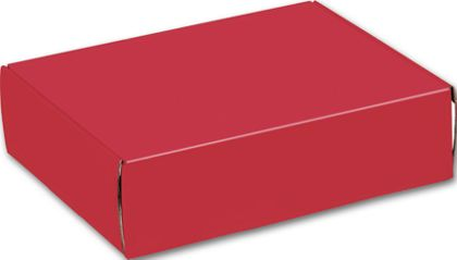 Red Decorative Mailers, 12 x 9 x 3""