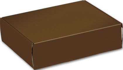 Chocolate Decorative Mailers, 12 x 9 x 3""