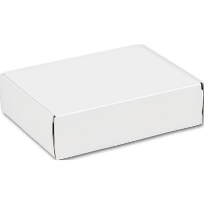 White Decorative Mailers, 12 x 9 x 3""