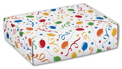 Festive Party Decorative Mailers, 12 x 9 x 3""