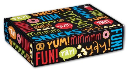 Snack Attack Decorative Mailers, 12 x 9 x 3""