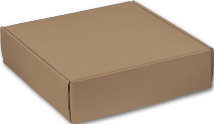 Kraft Decorative Mailers, 12 x 12 x 3""