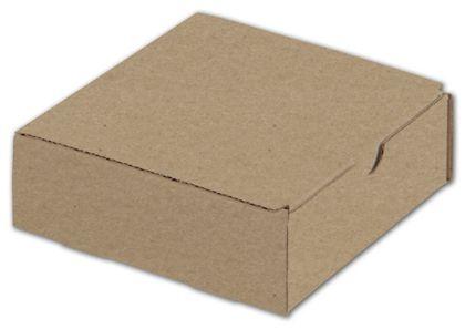 """Kraft One-Piece Mailers, 6 x 6 x 2"""""""