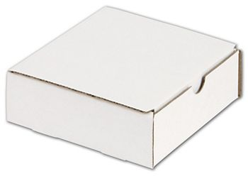 White One-Piece Mailers, 6 x 6 x 2