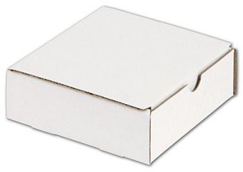 White One-Piece Mailers, 6 x 6 x 2