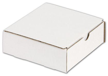 """White One-Piece Mailers, 6 x 6 x 2"""""""