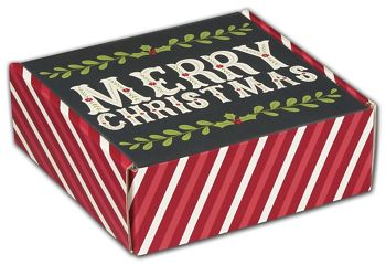 Christmas Greetings Decorative Mailers, 6 x 6 x 2