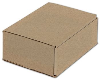 Kraft One-Piece Mailers, 8 x 6 x 3