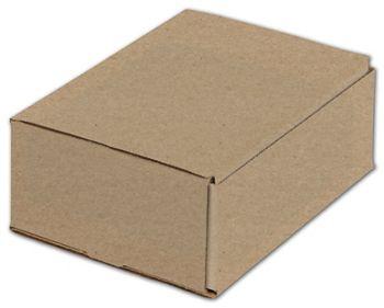Kraft One-Piece Mailers, 8 x 6 x 3