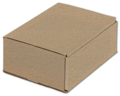 Kraft One-Piece Mailers, 8 x 6 x 3""
