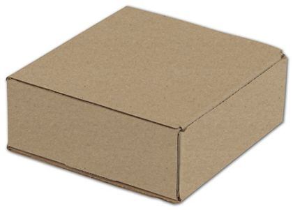 Kraft One-Piece Mailers, 8 x 8 x 3""
