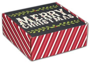 Christmas Greetings Decorative Mailers, 8 x 8 x 3