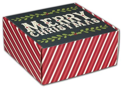 Christmas Greetings Decorative Mailers, 9 x 9 x 4""