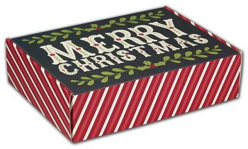 Christmas Greetings Decorative Mailers, 12 x 9 x 3