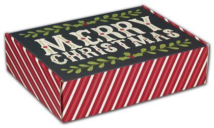 "Christmas Greetings Decorative Mailers, 12 x 9 x 3"""