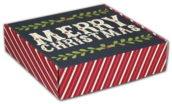Christmas Greetings Decorative Mailers, 12 x 12 x 3