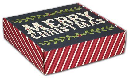 "Christmas Greetings Decorative Mailers, 12 x 12 x 3"""