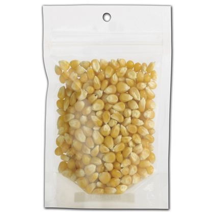 Clear Zipper Pouches, 3 5/8 x 1 1/2 x 5""