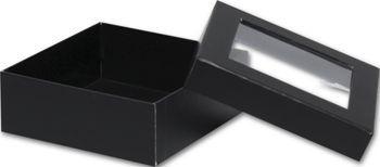 Black Rigid Gourmet Window Boxes, Medium