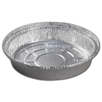 Silver Nova(r) Round Foil Pans, 9