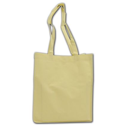 """Ivory Non-Woven Shoppers, 13 x 6 x 15"""""""