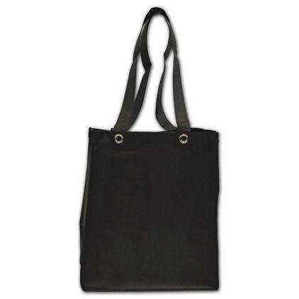 "Black Non-Woven Food Service Bags, 12 x 10 x 14"""