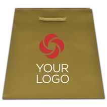 Printed Gold Dust Matte Inverted Trapezoid Euro-Totes