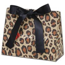 Printed Leopard Purse Style Gift Card Holders, Small