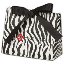"Printed Zebra Purse Style Gift Card Holders 4 1/2x2x3 3/4"""