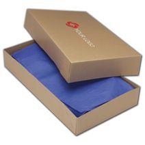 "Printed Kraft Two-Piece Apparel Boxes, 24x14x4"""