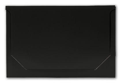 "Solid Black Pop-Up Gift Card Folders, 5 x 3 3/8 x 1/8"""