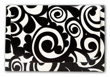 Bold Flower Pop-Up Gift Card Folders, 5 x 3 3/8 x 1/8