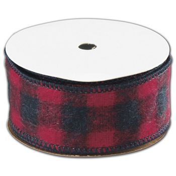 Buffalo Plaid Ribbon, 1 1/2