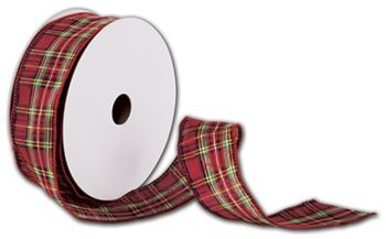 Tartan Plaid Ribbon, 1 1/2