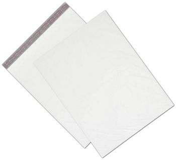 White Unprinted Poly Mailers, 19 x 24